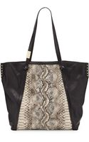 Foley + Corinna Tight Rope Snakeprint Tote Bag - Lyst