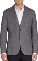 Faconnable Club-fit Cotton Sportcoat - Lyst