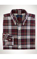 Polo Ralph Lauren Classic-fit Plaid Oxford Shirt - Lyst