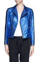 3.1 Phillip Lim Leather Jacket - Lyst