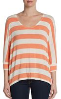 Splendid Striped Dolman Top - Lyst