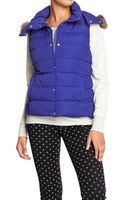 Old Navy Quilted Detachablehood Vests - Lyst