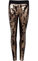 Ted Baker Sequin Tapered Trousers - Lyst