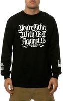 Crooks And Castles The Against Us Ls Tee - Lyst