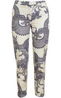 Osman Yousefzada Tailored Dragon Brocade Trousers - Lyst