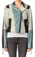 Y.a.s Blazer Swam Leather Jacket S14 - Lyst