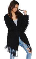 Nasty Gal Gettin Shaggy with It Jacket - Lyst