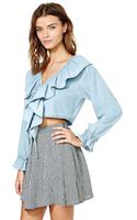Nasty Gal Blank Nyc Whats Shakin Top - Lyst