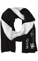 Givenchy Knitted Wool Scarf - Lyst