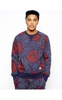 Penfield Sweatshirt with All Over African Flower Print - Lyst