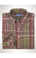 Polo Ralph Lauren Classic Printed Madras Shirt - Lyst