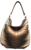 Sondra Roberts Large Twisted Nappa Hobo - Lyst