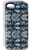 Marc By Marc Jacobs Snake Heart Print Iphone 55s Case in Grey Multi - Lyst
