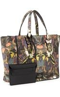 Valentino Butterfly Camouflage Tote Bag - Lyst