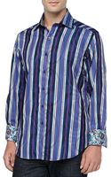 Robert Graham Chelsea Striped Sport Shirt - Lyst