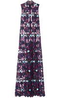 Mary Katrantzou Badgielol Lace Dress - Lyst