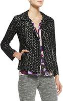 Nanette Lepore Love Lace Zip Jacket - Lyst
