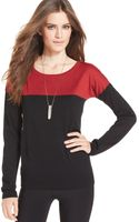 Calvin Klein Jeans Colorblocked Sweater - Lyst