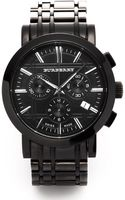 Burberry Chronograph Watch - Lyst