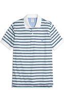 Brooks Brothers Slim Fit Varigated Multistripe Polo Shirt - Lyst