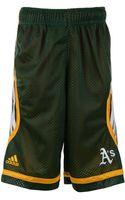 Adidas Boys Oakland Athletics Shorts - Lyst