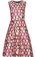 Marni Wool and Silk-blend Dress - Lyst