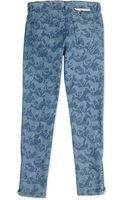 Stella McCartney Horseprint Denim Jeans - Lyst