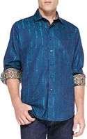 Robert Graham Marquies Jacquard Sport Shirt - Lyst