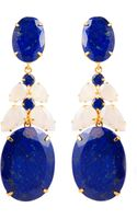 Bounkit Lapis Earrings - Lyst