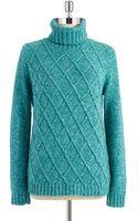 Jones New York Turtleneck Knit Sweater - Lyst