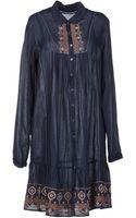 Velvet By Graham & Spencer Short Dress - Lyst