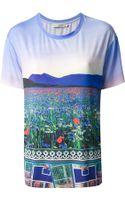 Mary Katrantzou Landscape Print Tshirt - Lyst