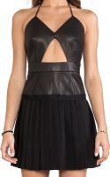 Thakoon Addition Cut Out Pleated Skirt Dress - Lyst