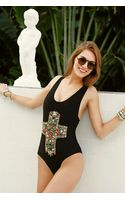 Beach Riot Delano Embellished Onepiece Swimsuit - Lyst