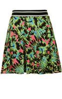 Topshop Hawaiian Flippy Skirt - Lyst