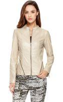 Hugo Luane  Leather Jacket - Lyst