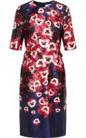 Prabal Gurung Floralprint Cotton and Silkblend Dress - Lyst