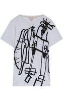 Rag & Bone Graphic Print Tee - Lyst