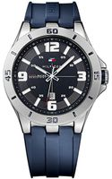 Tommy Hilfiger Navigator Watch with Silicon Strap - Lyst