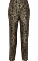 Raoul Metallic Brocade Tapered Pants - Lyst