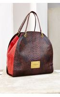 Liebeskind Pam Snake Leather Bag - Lyst