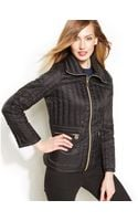 Michael Kors Packable Quilted Puffer Down Coat - Lyst