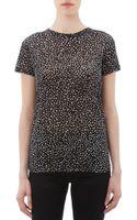 Proenza Schouler Spot Print Jersey Tshirt - Lyst