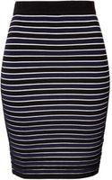 Jonathan Simkhai Striped Ribbed Pencil Skirt - Lyst