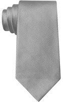 Calvin Klein Silk Pinstripe Tie - Lyst