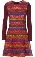 Matthew Williamson Jacquard Dress - Lyst