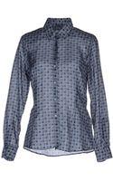 Glanshirt Long Sleeve Shirt - Lyst