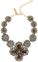 Oscar de la Renta Swarovski Crystal Radial Necklace - Lyst