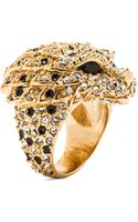 Saint Laurent Lion Ring - Lyst