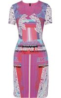 Peter Pilotto Mw Printed Stretchcady Dress - Lyst